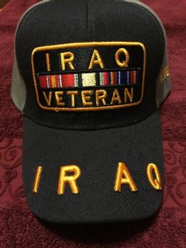 IRAQ VETERAN Military Hat Official item