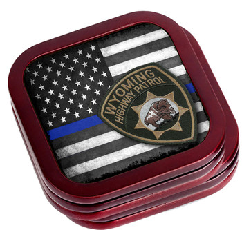 Alabama State Highway Patrol Coaster Set