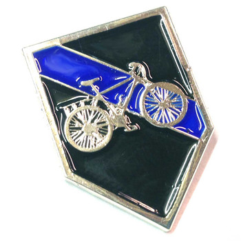 Thin Blue Line Bicycle Bike Patrol Lapel Pin Package of Two