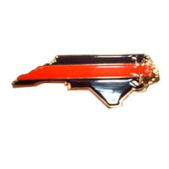 NC Shaped Red Line Pin