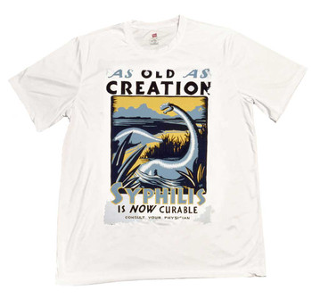 As Old As Creation Syphilis is Curable T-Shirt