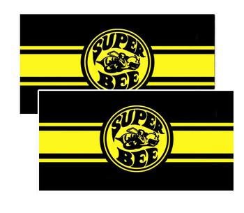 """Dodge Super Bee Decals 3.75"""" x 1.90"""""""