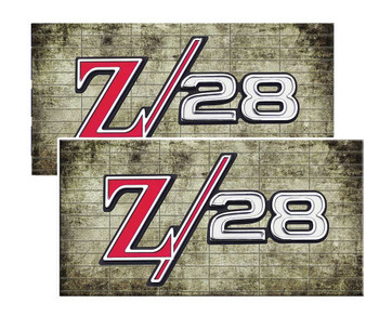 Z28 Muscle Car Decal