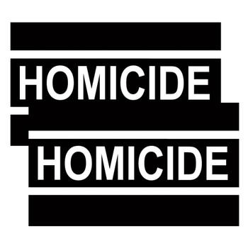 Homicide Police Decals