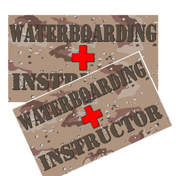 Waterboarding instructor decal