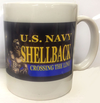 U.S. Navy Shellback Crossing The Line Coffee Mug