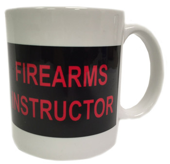 Firearms Instructor Coffee Mug