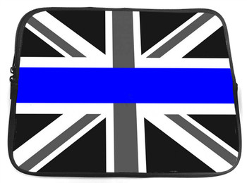 Thin Blue Line British Flag Neoprene Tablet Case