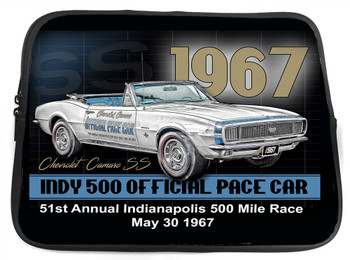 1967 SS Chevy Camaro Pace Car Neoprene Tablet Sleeve.