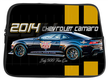 2014 Chevy Camaro Indy Pace Car Neoprene Tablet Sleeve