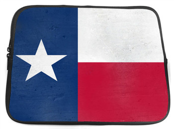 Texas Flag  Neoprene Zippered Tablet Sleeve