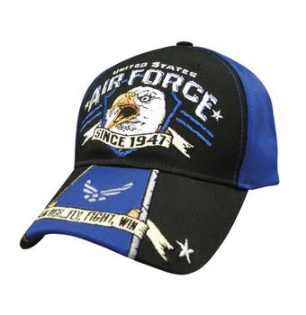 Military Eagle Scream: Air Force Hat
