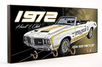 1972 Hurst Oldsmobile Indy Pace Car Key Rack