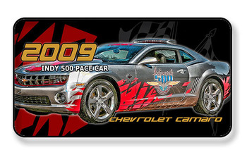 2009 Indy Pace Car Chevrolet Camaro Magnet- PACKAGE OF 4