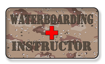 Water Boarding Instructor Magnet - Package of 4