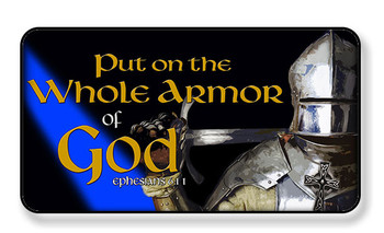 Put On The Whole Armor of God Magnet - PACKAGE OF 4