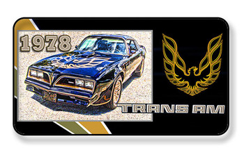1978 Pontiac Trans Am Magnet - PACKAGE OF 4