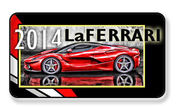 2014 La Ferrari Magnet - Package of 4