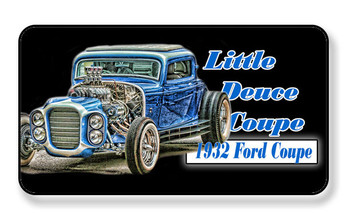 1932 Ford Little Deuce Coupe Magnet - PACKAGE OF 4