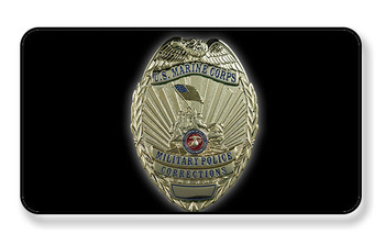 U.S. Marine Corps Military Police Corrections Badge Magnet - PACKAGE OF 4