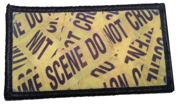 Distressed Flag of North Carolina Velcro Patch - PACKAGE OF 4
