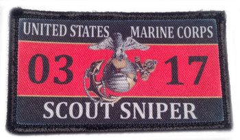 Subdued Maltese Cross Velcro Patch -  PACKAGE OF 4