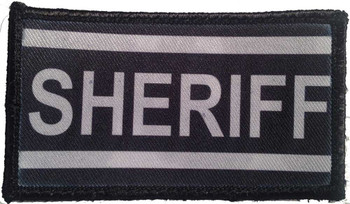 Sheriff Velcro Patch - PACKAGE OF 4