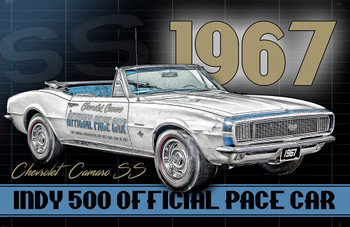 1967 Chevrolet Camaro SS Indy Pace Car