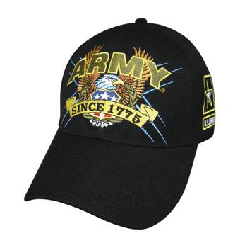 Military Slogan U.S.A: Army Hat