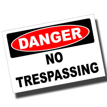 Danger Authorized Personnel Only 8x12 Metal Sign