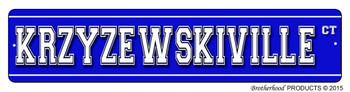 Coach K Krzyzewskiville Ct Street Sign