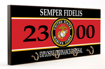 Semper Fidelis 2300 Explosive Ordinance Disposal Key Hanger