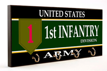 1st Infantry Division U.S. Army Key Hanger