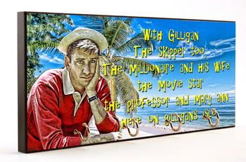 Gilligan's Island Theme Song Key Hanger