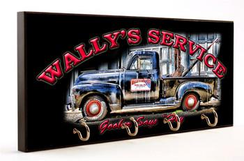 Mayberry Wally's Service Goober Says Hey Key Hanger