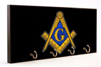 Free Mason Emblem Key Hanger