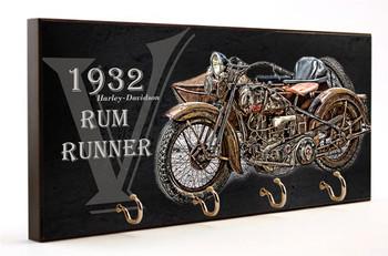 1932 Harley Davidson Rum Runner Key Hanger