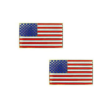 American Flag Lapel Pin Package of Two