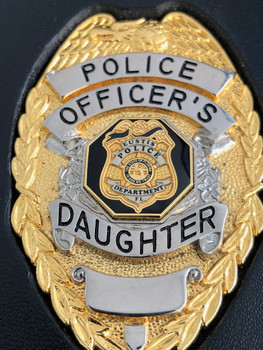 Eustis Family Badge Police Officer's Daughter.   NO POLICE POWERS SOLD AS COLLECTIBLE ONLY!