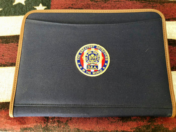NYPD DETECTIVE GREATEST IN THE WORLD PADFOLIO