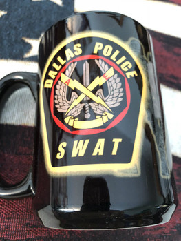 DALLAS POLICE SWAT COFFEE MUG