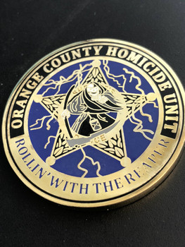 ORANGE CTY SHERIFF HOMICIDE UNIT CHALLENGE COIN RARE