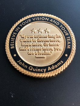 EXTREMELY RARE EXECUTIVE EMERGENCY MANAGEMENT ACADEMY CHALLENGE COIN
