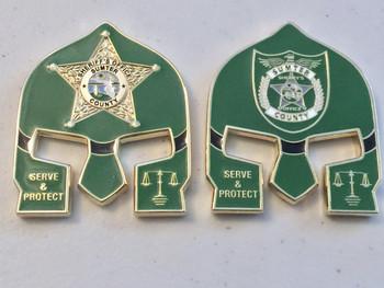 SUMTER CTY SHERIFF FL WARRIOR COIN