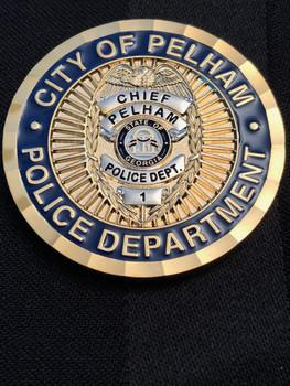 PELHAM GEORGIA POLICE CHALLENGE COIN RARE