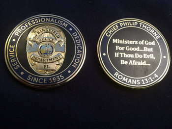 SPRINGFIELD POLICE COIN