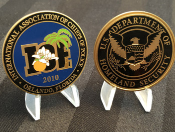 IACP ICE 2010 POLICE CONFERENCE COIN RARE