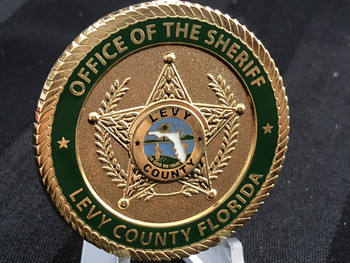 LEVY CTY SHERIFF FL OFFICE OF THE SHERIFF COIN RARE