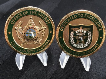 LEVY CTY SHERIFF FL OFFICE OF THE SHERIFF COIN