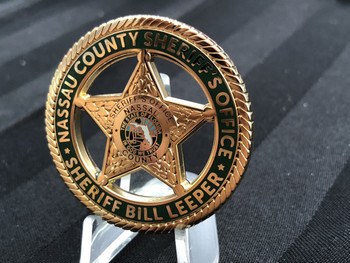 NASSAU CTY SHERIFF FL DEFENDING OUR VALUES CHALLENGE COIN